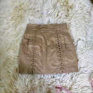 Balmain Military Jungle Style skirt Sz 40 Small
